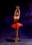 Lourdes Lopez in New York City Ballet's 'Firebird' by George Balanchine; Photo: Lois Greenfield
