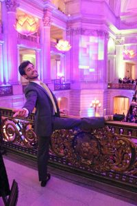 SFB Corps Dancer Diego Cruz at the After Party 'Barre'; photo: Fernando Lopez