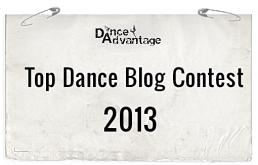 The Dance Advantage Top Dance Blog Contest 2013